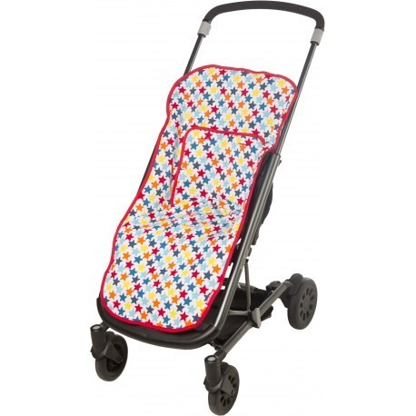 Colchoneta tuc tuc para silla paseo estrellas - Colchoneta silla paseo ...